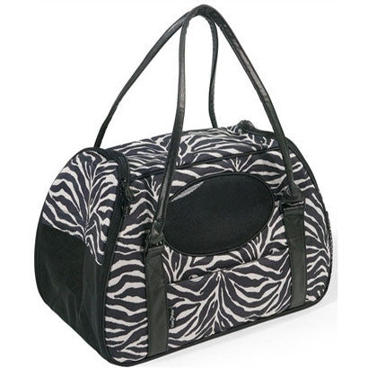 Carry-Me™ DELUXE Zebra - BD Luxe Dogs & Supplies - 1