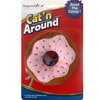 Cat N` Around Donut Toy - BD Luxe Dogs & Supplies - 1