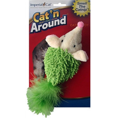 Cat N` Around Feather Tail Headgehog - BD Luxe Dogs & Supplies - 1