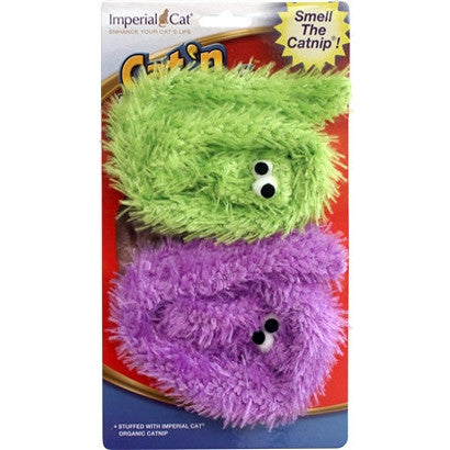 Cat N` Around Snake Duo Catnip Toy - BD Luxe Dogs & Supplies - 1