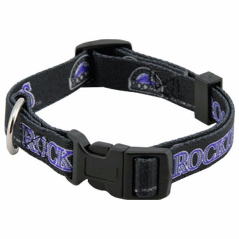 Colorado Rockies Dog Collar - BD Luxe Dogs & Supplies