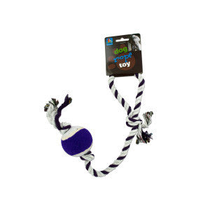 Dog Rope Tennis Ball Toy