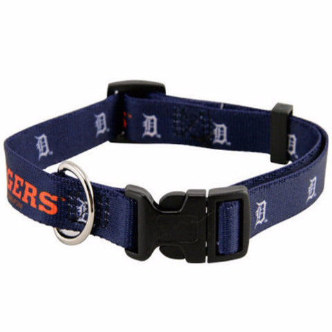 Detroit Tigers Dog Collar - BD Luxe Dogs & Supplies