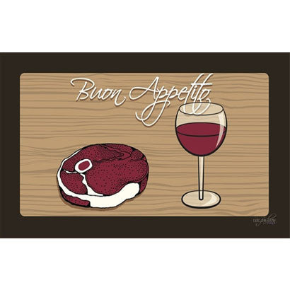 Dining Mat Steak and Wine by Dog Fashion Living - BD Luxe Dogs & Supplies