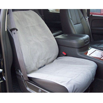 Fleece Bucket Pet Seat Cover - SLATE only - BD Luxe Dogs & Supplies - 1