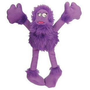 GO DOG LARGE CRAZY TUG PURPLE SASQUATCH WITH CHEWGUARD TECHNOLOGY - BD Luxe Dogs & Supplies