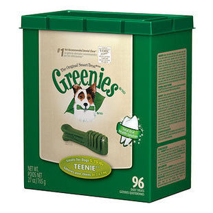 GREENIES 27OZ CANISTER DOG TREATS SIZE TEENIE - BD Luxe Dogs & Supplies