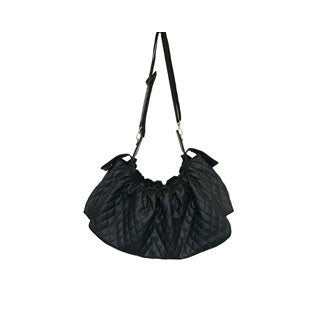 Gigi Sling - Black Quilted - BD Luxe Dogs & Supplies