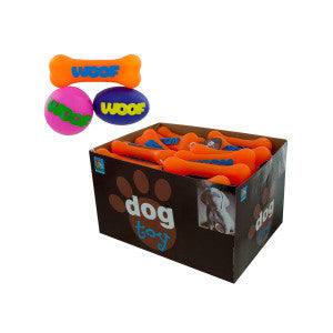 Dog Squeak Toy Countertop Display