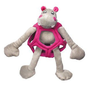 KONG PUZZLEMENTS HIPPO DOG TOY SIZE LARGE 17 INCH - BD Luxe Dogs & Supplies