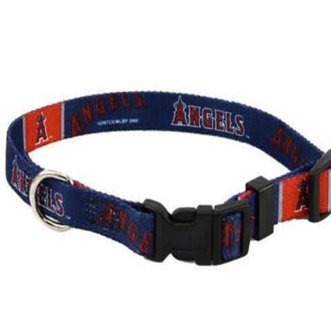 Los Angeles Angels Dog Collar - BD Luxe Dogs & Supplies