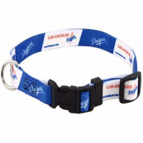 Los Angeles Dodgers Dog Collar - BD Luxe Dogs & Supplies