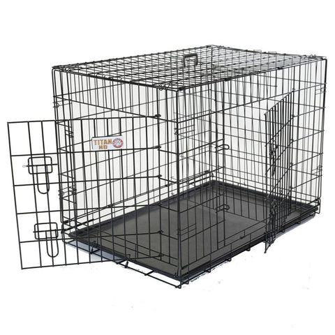 Extra Large Two Door Dog Crate - BD Luxe Dogs & Supplies