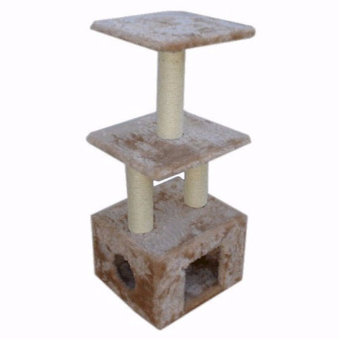 Majestic 40 Inch Casita Cat Tree - BD Luxe Dogs & Supplies