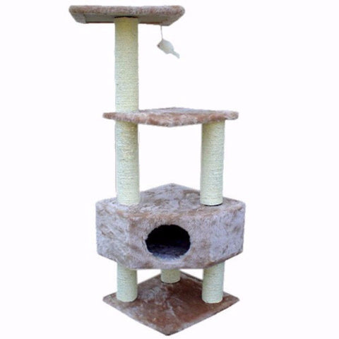 Majestic 52 Inch Casita Cat Tree - BD Luxe Dogs & Supplies
