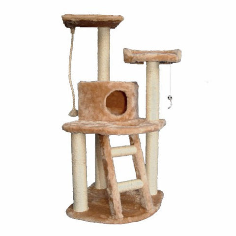 Majestic 48 Inch Casita Cat Tree - BD Luxe Dogs & Supplies