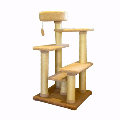 Majestic 48 Inch Cat Tree Jungle Gym - BD Luxe Dogs & Supplies