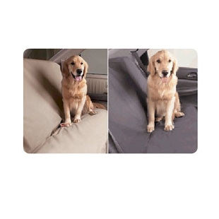 "Medium SUV / Station Wagon Rear Pet Seat Cover - 54"" Wide - BD Luxe Dogs & Supplies"