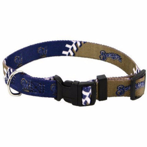 Milwaukee Brewers Dog Collar - BD Luxe Dogs & Supplies