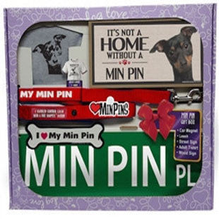 Min Pin Lover Gift Box - BD Luxe Dogs & Supplies