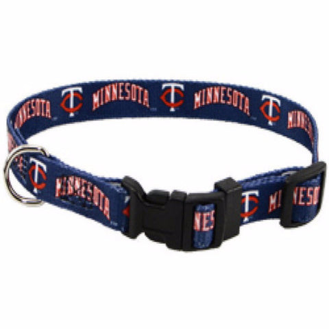 Minnesota Twins Dog Collar - BD Luxe Dogs & Supplies