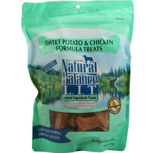NATURAL BALANCE CHICKEN AND SWEET POTATO DOG TREATS - BD Luxe Dogs & Supplies