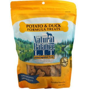 NATURAL BALANCE DUCK AND POTATO DOG TREATS - BD Luxe Dogs & Supplies