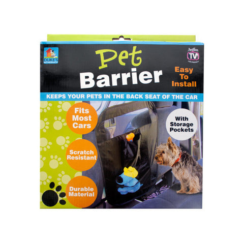 Auto Pet Barrier with Storage Pockets - BD Luxe Dogs & Supplies - 1