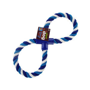 Figure Eight Dog Rope Toy