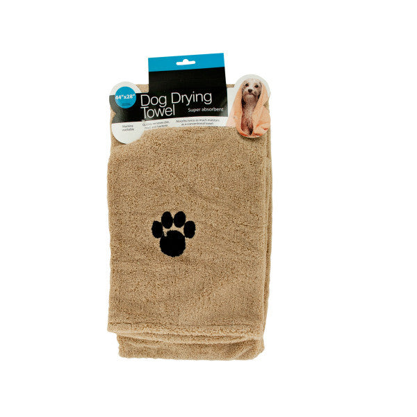 Large Super Absorbent Dog Drying Towel