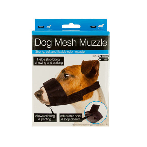 Adjustable Nylon Mesh Dog Muzzle - BD Luxe Dogs & Supplies - 1