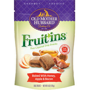OLD MOTHER HUBBARD FRUIT INS HONEY APPLE & BACON BAKED DOG TREATS - BD Luxe Dogs & Supplies