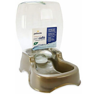 PETMATE CAFE WATERER 1.5 GALLON PEARL TAN - BD Luxe Dogs & Supplies