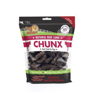 PET N SHAPE CHUNX FLAVOR BEEF LUNG STEAKS 9OZ - BD Luxe Dogs & Supplies - 1