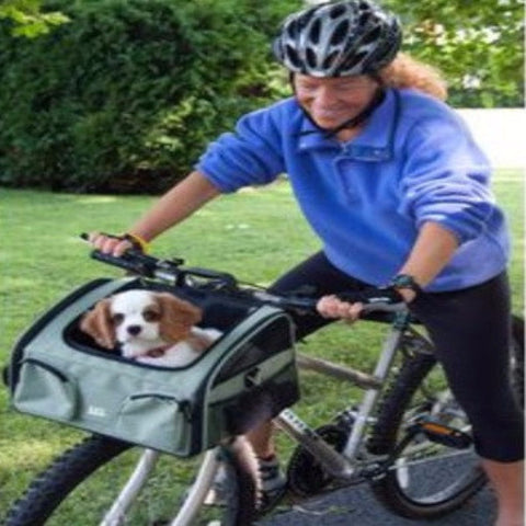 3-in-1 Pet Bike Basket and Carrier - Large - BD Luxe Dogs & Supplies