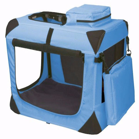 Generation II Deluxe Portable Soft Crate - Extra Small - BD Luxe Dogs & Supplies