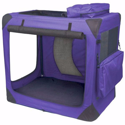 Generation II Deluxe Portable Soft Crate - Medium - BD Luxe Dogs & Supplies