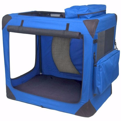 Generation II Deluxe Portable Soft Crate - Large - BD Luxe Dogs & Supplies