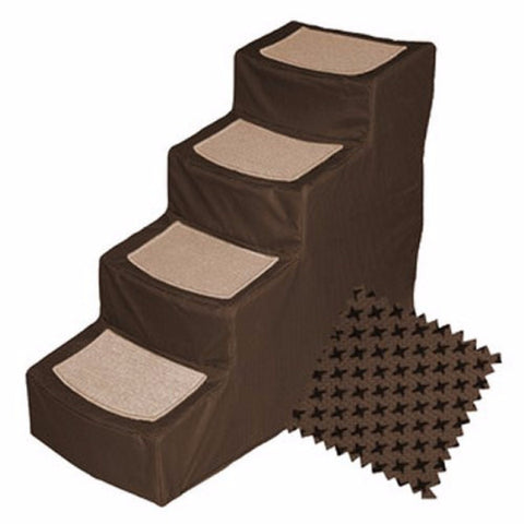 Designer Pet Stair IV - BD Luxe Dogs & Supplies