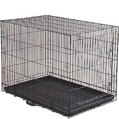 Economy Dog Crate - Large - BD Luxe Dogs & Supplies