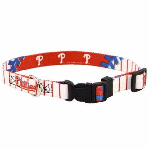 Philadelphia Phillies Dog Collar - BD Luxe Dogs & Supplies