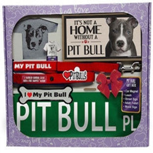 Pit Bull Lover Gift Box - BD Luxe Dogs & Supplies