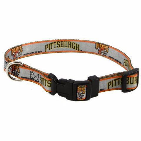 Pittsburgh Pirates Dog Collar - BD Luxe Dogs & Supplies