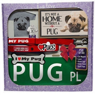 Pug Lover Gift Box - BD Luxe Dogs & Supplies