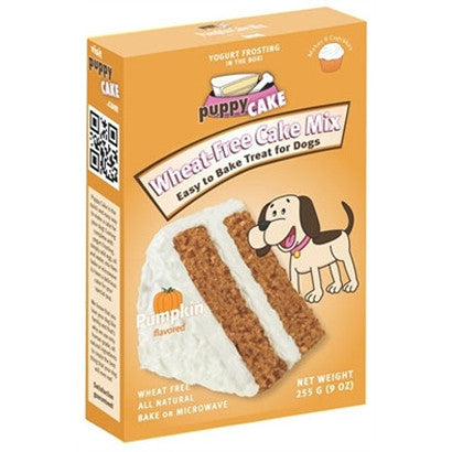 Puppy Cake Mix and Frosting - Pumpkin Spice (Wheat-Free) - BD Luxe Dogs & Supplies