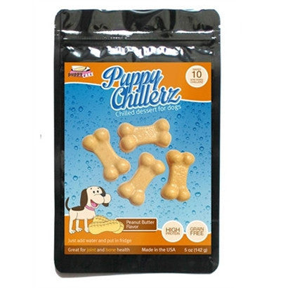 "Puppy Chillerz - Peanut Butter ""Jello"" - BD Luxe Dogs & Supplies - 1"