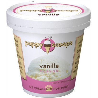 Puppy Scoops Ice Cream Mix - Vanilla - BD Luxe Dogs & Supplies - 1