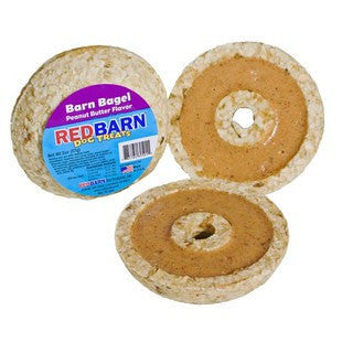 REDBARN PEANUT BUTTER BARN BAGEL - BD Luxe Dogs & Supplies