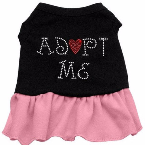 Adopt Me Rhinestone Dog Dress - BD Luxe Dogs & Supplies