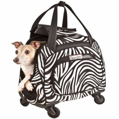 Cooper 4-Wheeled Pet Carrier - BD Luxe Dogs & Supplies